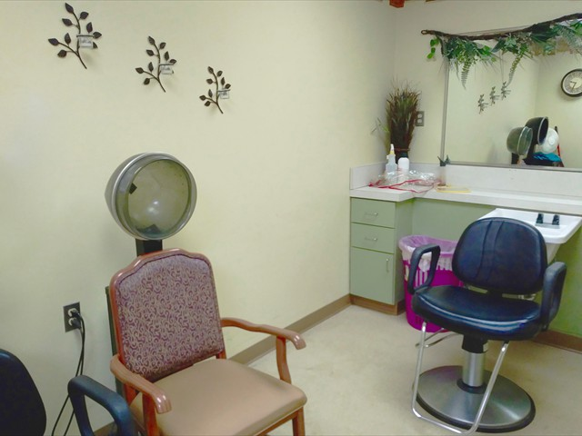 Beauty Parlor Interior