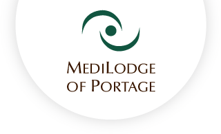 Medilodge of portage web logo